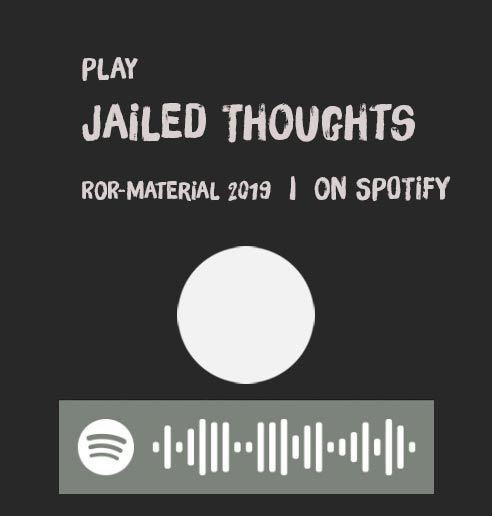 [Translate to Englisch:] Progressive Stonerrock - Jailed Thoughts - MP3 auf SPOTIFY